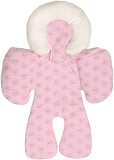 Reversible Body Support, Hamkaw All Season Available Organic Cotton Infant Head and Neck Support Cushion for Car Seats,Strollers