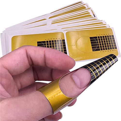 Kapian Nagel Set, Fiber Beauty Nail Extension Silk Fiberglas für Gel Extension Nail Art Tool,...