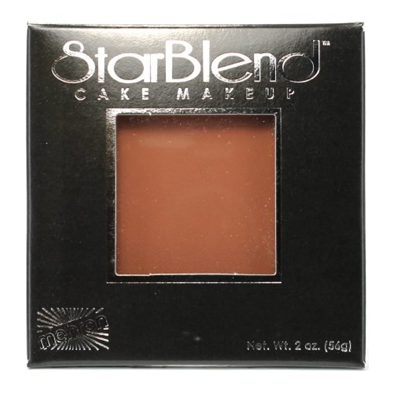 異邦人疼痛横(6 Pack) mehron StarBlend Cake Makeup - Contour II (並行輸入品)
