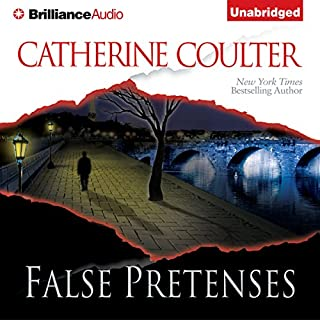 False Pretenses audiobook cover art