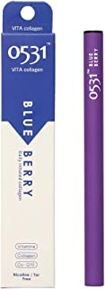 0531 Aromatherapy Inhaler,Natural Quit Smoking Remedy, Harmless Cigarette Lowers Stress Levels, Simply Breathe to Enhance Your Mood with Blended & Heated Aromatherapy Organic and Natural.Blueberry