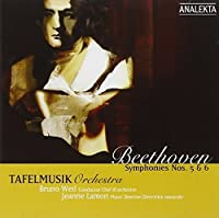 Symphonies 5 & 6 by TAFELMUSIK BAROQUE ORCHESTRA (2005-03-22)
