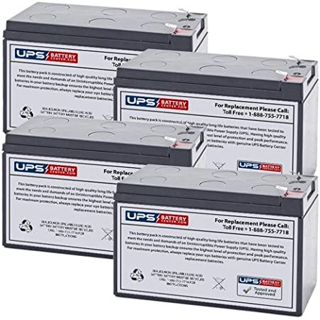 APC Back-UPS 400 BK400B Compatible Replacement Battery Kit