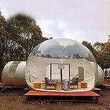 Aufblasbares Bubble Zelt transparentes Bubble House-Kuppel-Gewächshauszelt - transparenter 360 °...