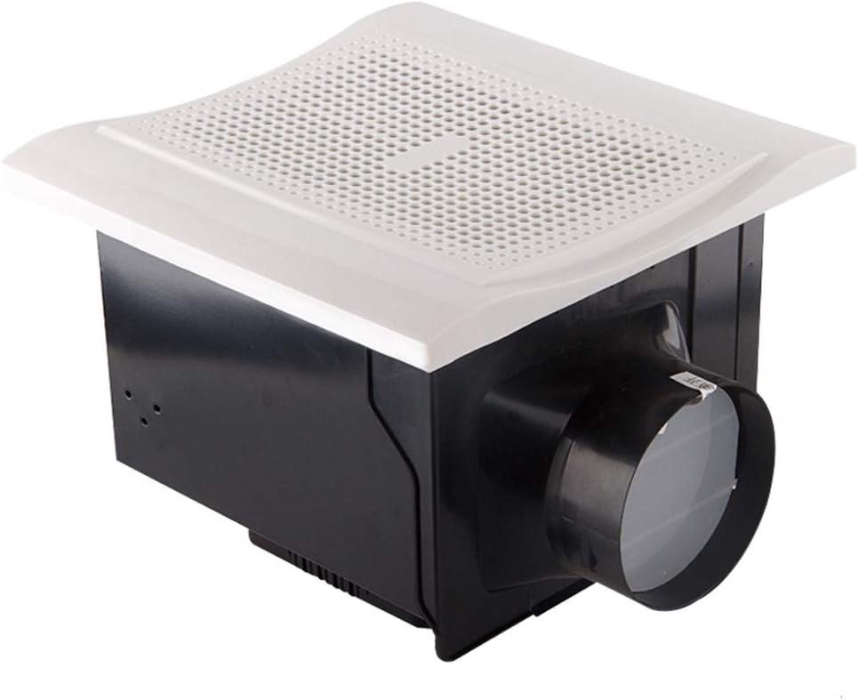 QIQIDEDIAN Ventilador Extractor Ventilador Ventilador Silencio Baño Plomería Techo Extractor Ventilador Extractor