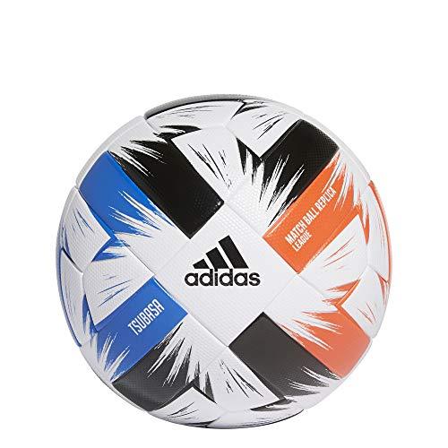 adidas Tsubasa LGE Balón de Fútbol, Men's, White/Solar Red/Glory Blue/Black, 5