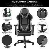 Zoom IMG-2 sedia da gaming ufficio ergonomica