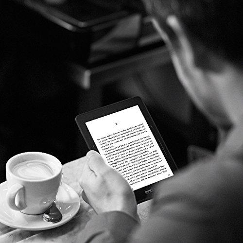 Kindle Voyage 3G, Zertifiziert und generalüberholt, 15,2 cm (6 Zoll) hochauflösendes Display (300 ppi) mit integriertem intelligenten Frontlicht, PagePress-Sensoren, Gratis 3G + WLAN