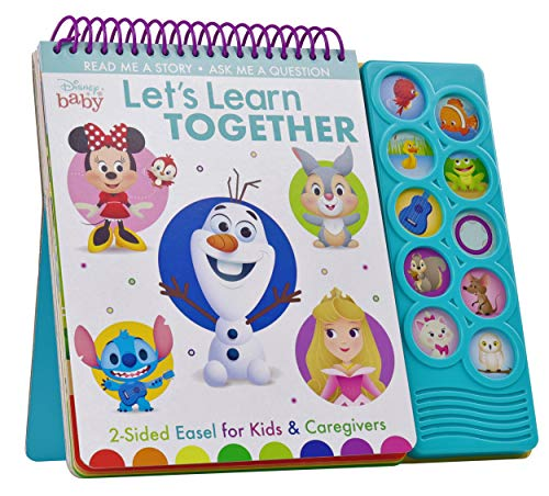 Disney Baby: Lets Learn Together: 2-Sided Easel for Kids & Caregivers