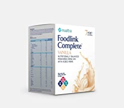 Nualtra Foodlink Complete Powder Vanilla with Fibre 7 x 57g Estimated Price : £ 12,09