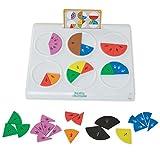 Learning Resources- Puzles de fracciones Fraction Pie, Color (EI-8445) , color/modelo surtido