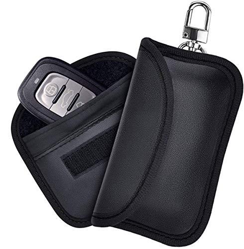 Etmury Keyless Go Schutz Autoschlüssel, Autoschlüssel Sschutz Keyless Hülle 2 Pack, RFID Schlüsseltasche Autoschlüssel,Keyless Go Schutzhülle