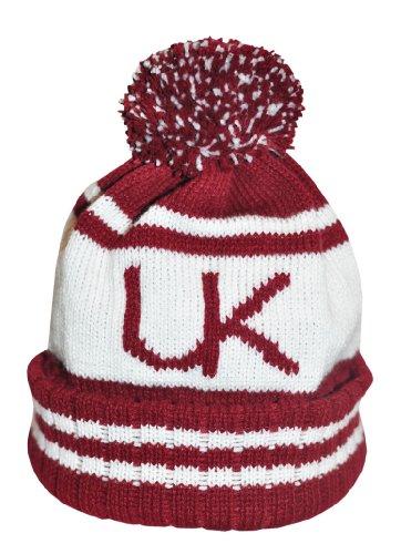 Underground Kulture Rouge Collège Bonnet Chapeaux (College Beanie Hat Red)
