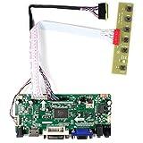 HDMI + VGA + DVI + Tarjeta de Control de LCD de Entrada de Audio para LP156WH2 LP156WH4 15.6'1366x768 LED Backlight 40Pin LCD Panel