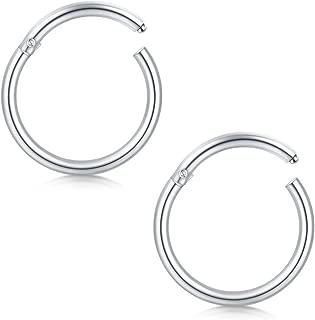 18g nose ring hoop