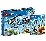 Lego 60207 - Juego de caza de dron (cubierta blanda), diseño de Lego City