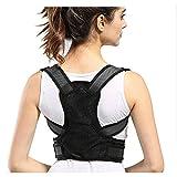 Cintura di sostegno lombare della dorsale della spalla della clavicola del dorso della spalla del supporto regolabile regolabile per migliorare la cattiva posizione, cifosi toracica, allineamento dell