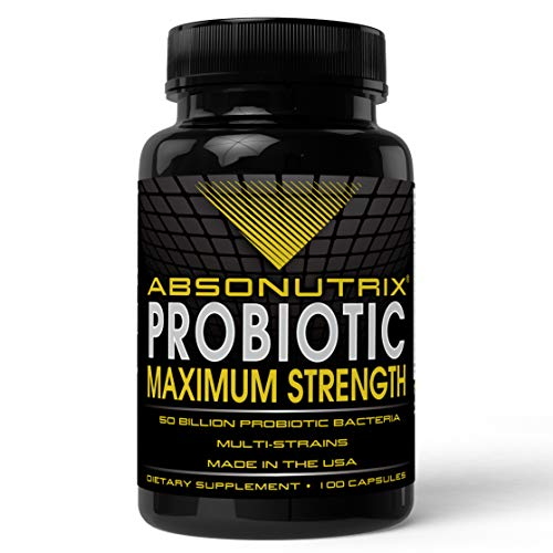 Absonutrix Probiotic Maximum Strength 50 Billion Per Capsule Multi-strain