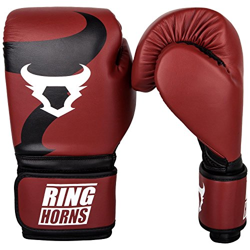 Ringhorns Charger Boxhandschuhe, Rot, 14oz