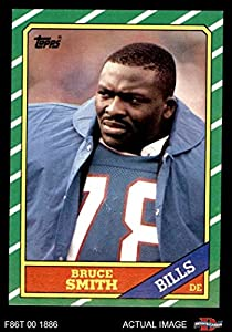 1986 Topps # 389 Bruce Smith Buffalo Bills (Football Card) Dean's Cards 8 - NM/MT Bills Virginia Tech