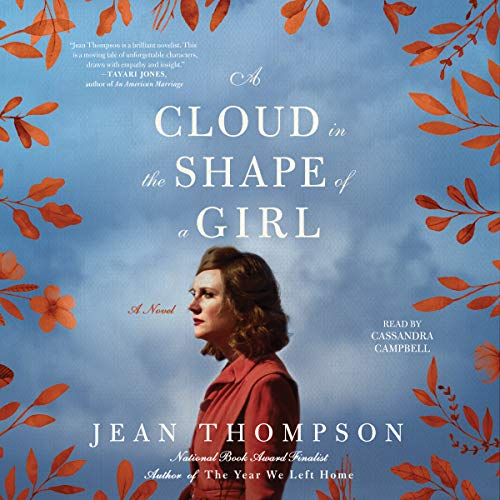 A Cloud in the Shape of a Girl audiobook cover art