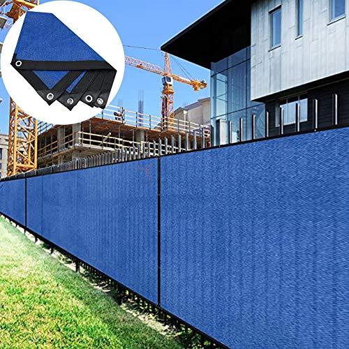 Bache de Protection LJIANW Auvent D'auvent À Toute Épreuve Bâche en Maille Polyvalent Couvercle De Protection for Ombre Clôtures Auvents, Polyéthylène , 80% (Color : Blue, Size : 2X8M)