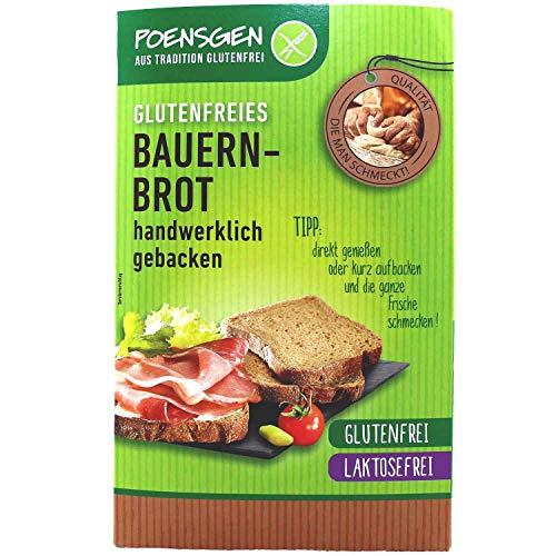 Bauernbrot 400g Glutenfrei / Laktosefrei (9,48 € / kg)