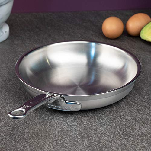 Hestan - ProBond Collection - Professional Clad Stainless Steel Skillet, 8.5-Inches