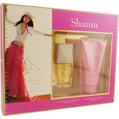 Shania Twain By Stetson For Women. Set-edt Spray 1 oz & Shimmer Body Lotion 5 oz