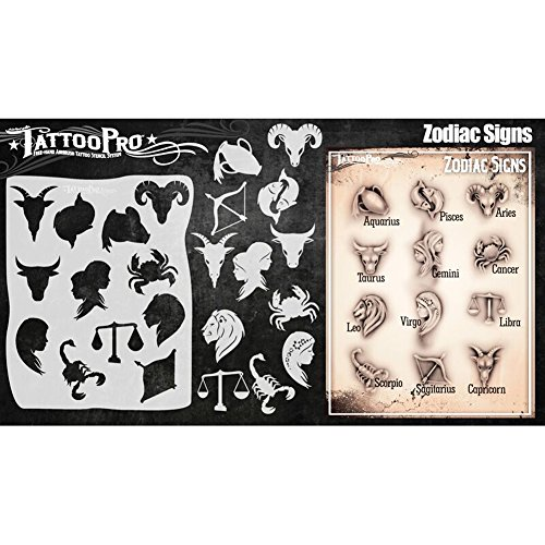 Tattoo stencil Pro Series 5–segni zodiacali