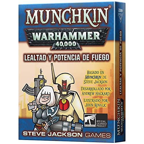 Munchkin - Lealtad y Potencia de Fuego - Juego de Cartas en Español