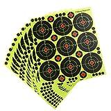 Perfeclan 90 stück Papier Zielscheiben Selbstklebende Scheibenauflage für Bogenschießen Recurve und Compound Bogen