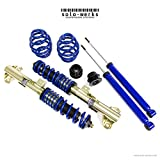 Solo Werks S1BW001 - S1 Coilover Suspension System fits BMW 3 Series E36 '92-'98 Coupe, Sedan, Convertible
