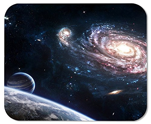 Milkyway Earth Printing Rectangle Mouse Pad Design Your Own Computer Mousepad