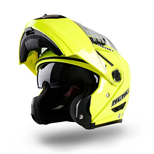 NENKI NK-860 casco de la moto de la motocicleta ciclomotor tirón enci