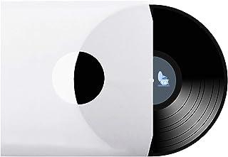 CUIDATUMUSICA 20 Fundas DE Papel para Discos DE Vinilo LP/Ref. 3306 - Esquinas Troqueladas -