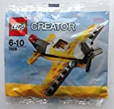 LEGO Creator 7808 Yellow Airplane Polybag