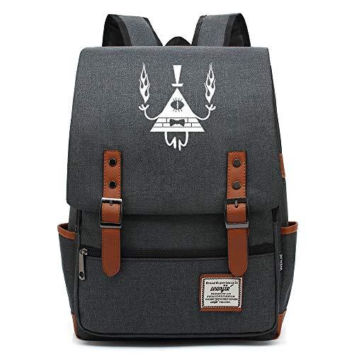 Zaino Anime Gravity Falls, borsa da scuola grande e leggera, zaino da viaggio universitario, adatto a tablet da 15'per laptop da 16 pollici. Colore-11.