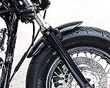 Motorycle Metal Front Front Fender Mudguard para 2010-2017 Harley Sportster 48 XL1200X 1200...