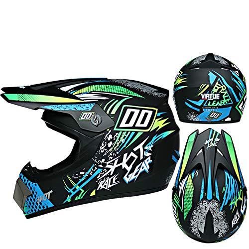 IAMZHL motorradhelm KinderOffroad Helm fahrradhelm kapazit Motocross Casco-a20-M