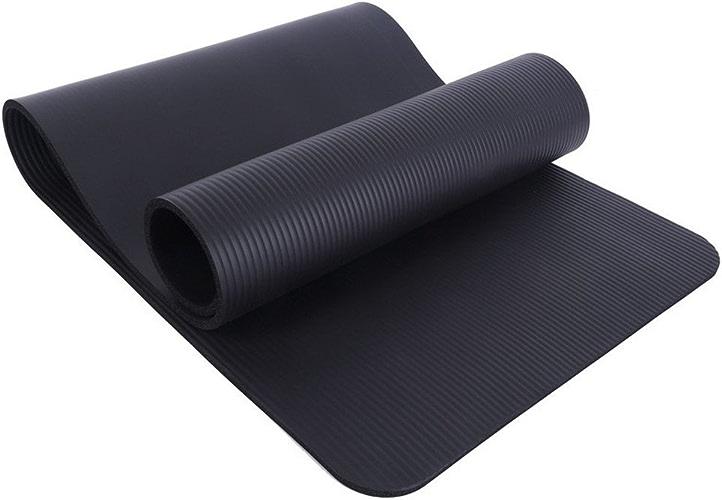 LILUO Yoga Mat Tapis de Yoga Vert NAR Multifonctionnel Yoga Durable Débutant Tapis de Yoga 185  80  1 cm