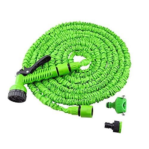 Tubo flessibile per giardino espandibile 50ft, tubo da giardino a prova di perdita di acqua con 7 ugelli a spruzzo funzione, resistenza superior in espansione del giardino