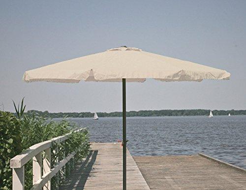 Profiline Kurbelschirm 300 cm Natur, mit UV-Schutz 30 Plus, Knicker, 1001312