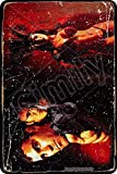 Cimily from Dusk Till Dawn Film Vintage Blechschild Eisenmalerei Plakette Wanddekor...