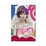 Schauspieler Claudia Cardinale Kunstfoto 1 Leinwand Poster