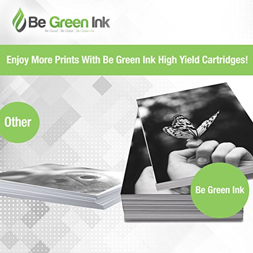 Be Green Ink Compatible Black Ink for HP 972X 972 for Pagewide Pro 477dw 577dw 452dn 452dw 477d 552dw 577z Black, High Yield, F6T84AN