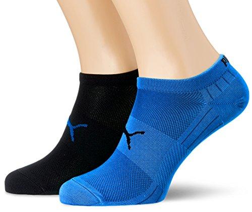 PUMA Herren PERFORMANCE TRAIN LIGHT SNEAKER 2P Socken, blue/Black, 43-46 (2er Pack)