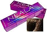 Tintura professionale colorazione per capelli SENZA AMMONIACA, PPD o MEA - 6.07- BIONDO SCURO CALDO - NEALA 100ml.