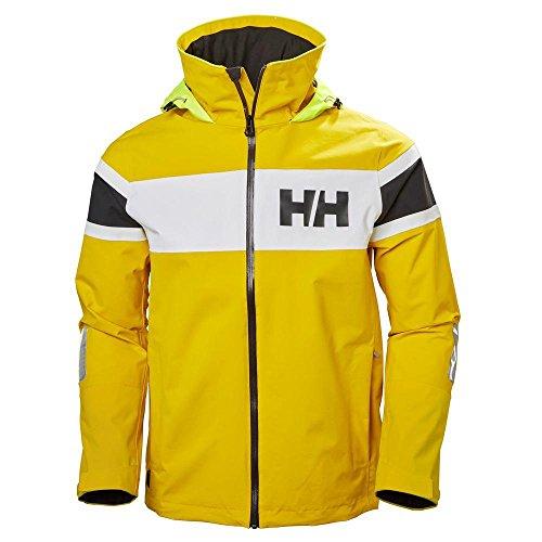 Cazadora Helly Hansen amarilla deportiva para hombre