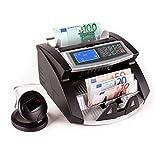 oneConcept - Contador de billetes - Control UV - Reconocimiento IR - Magnético - Función...